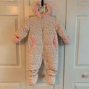OshKosh B'gosh Snowsuit Pram Suit, Size 12m